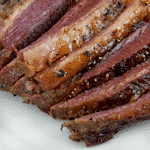 low carb apricot glazed brisket