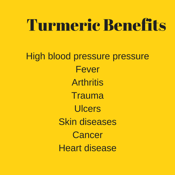 Turmeric reduces high blood pressure
