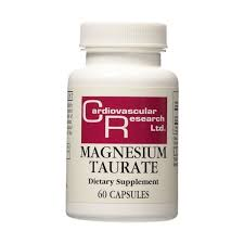 Cardiovascular Research Magnesium Taurate Review