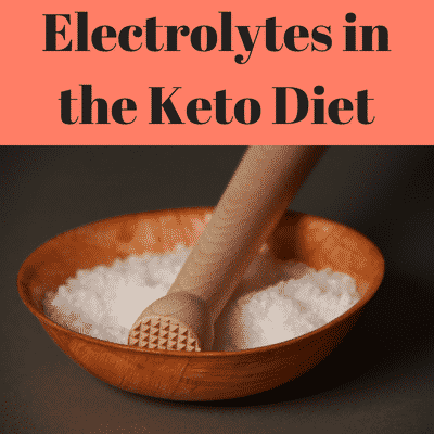 Tge keto flu, Electrolytes for the keto diet, keto electrolyte drink