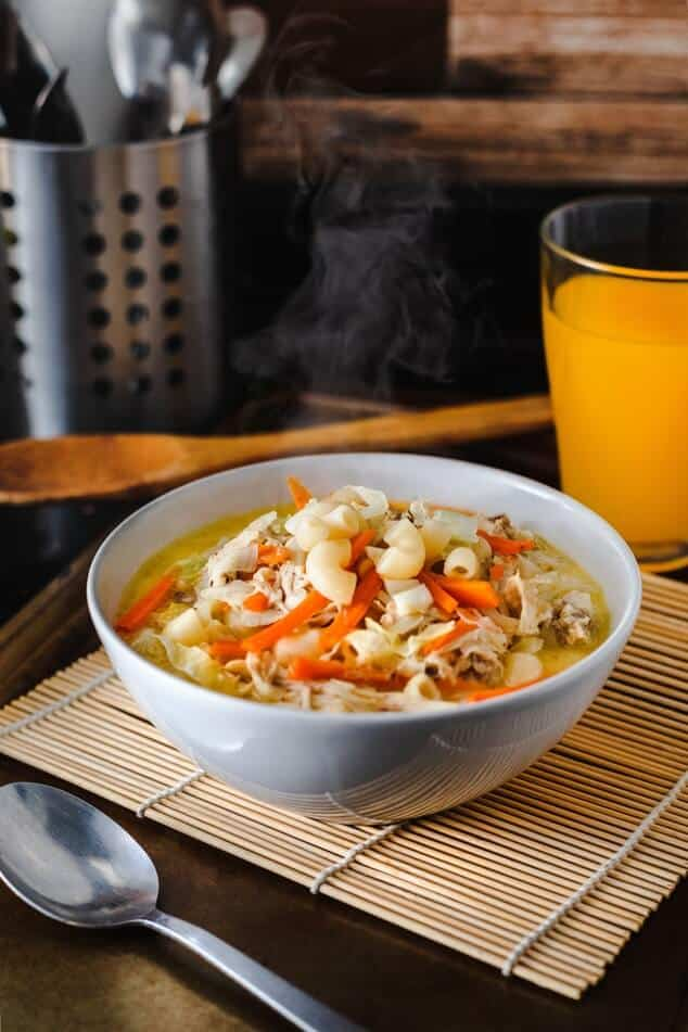 Heart Healthy Soup. Bean and Macaroni soup. Is soup good gor the heart? Is canned soup healthy?