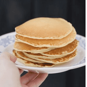 Low carb keto heart healthy pancakes