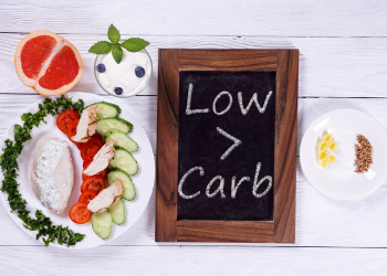 Keto diet or low carb diet for heart health.